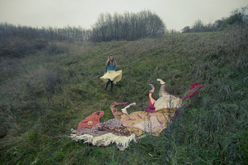 The Girl With 7 Horses photos by Ulrika Kestere