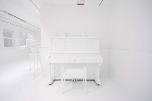 The Obliteration Room by artist Yayoi Kusama