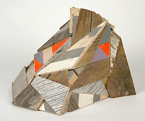 Sculptures by artist Aaron Moran