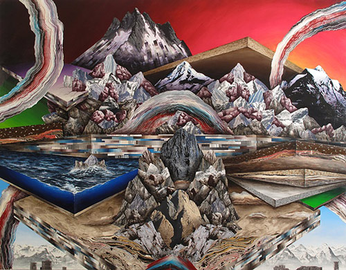 Artist painter Adam Friedman paintings