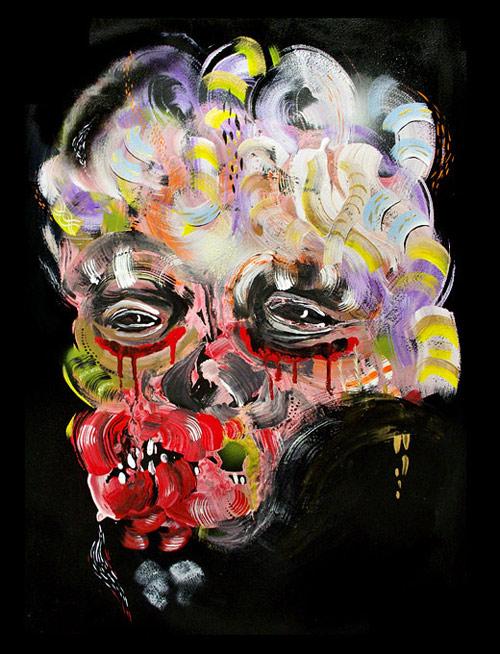 Artist painter Bill Dunlap
