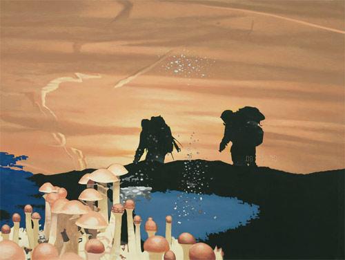 Artist painter Christopher Mir