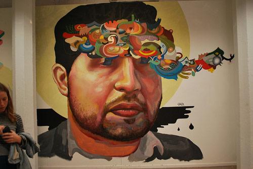 Artist Nicolás Santiago Romero Escalada aka Ever