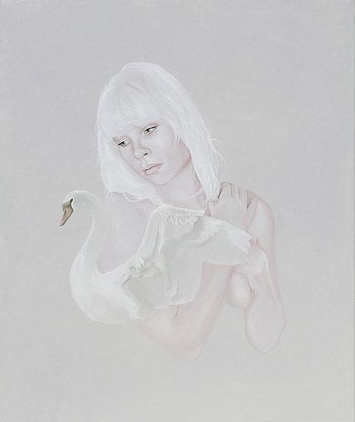 Artist painter Jen Mann paintings