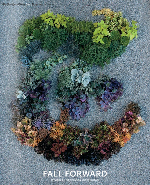 Garden designer Judy Kameon for New York Times T Magazine