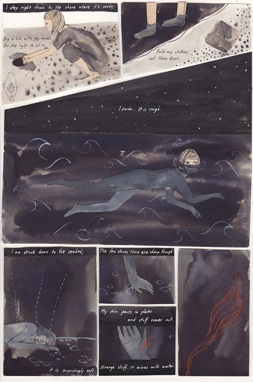Illustrator Kaye Blegvad illustrations