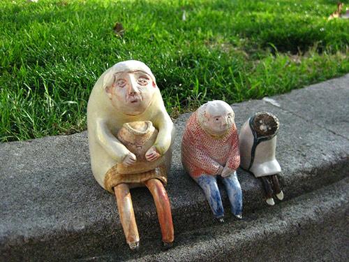 ceramics by artist Miju Lee