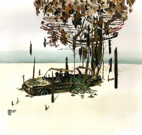 Artist Rob Sato