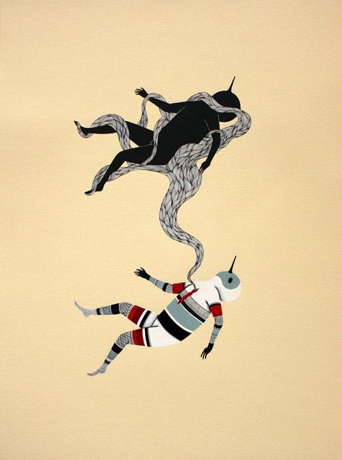 Artist Jerome Meynen drawings