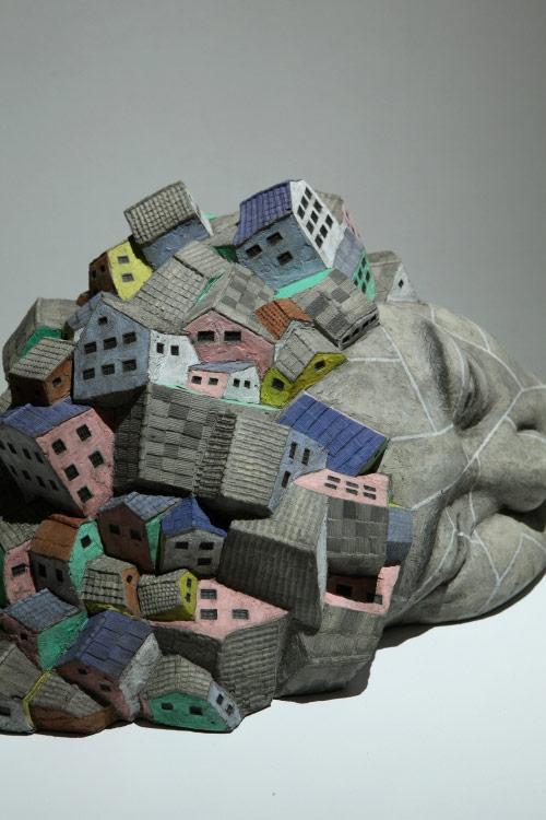 Sculptures by artist Seungchun Lim