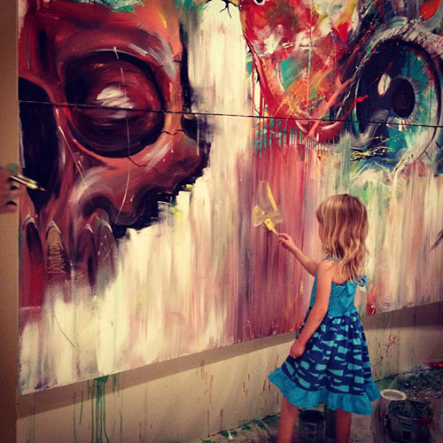 art after dark booooooom create inspire community art