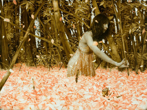 Artist painter Brad Kunkle