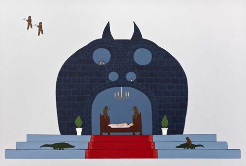 Artist painter Dea Lellis paintings