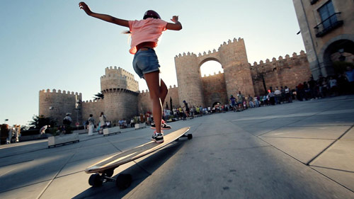 Endless Roads Road Trip in Spain with Longboard Girls Crew
