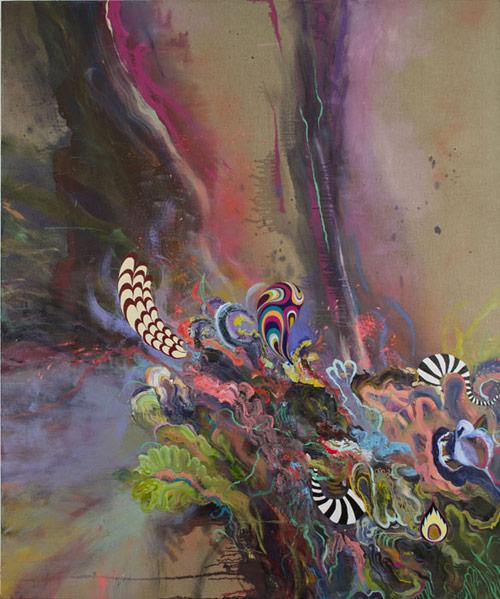 Artist painter Jackie Tileston paintings