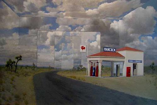 Artist painter Jerry Wayne Downs