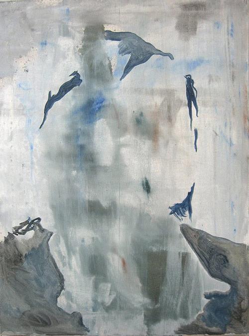Artist painter Krisjanis Kaktins-Gorsline