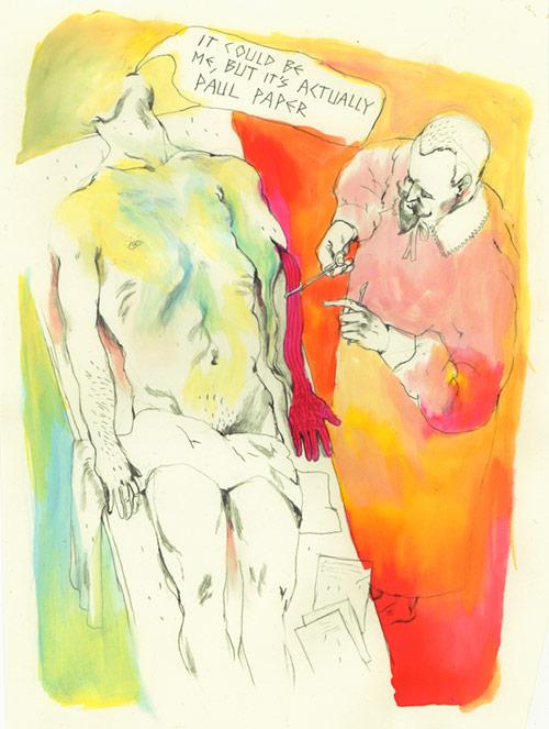Artist illustrator Maarten Donders