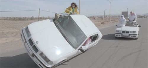 M.I.A. Bad Girls music video directed by Romain Gavras