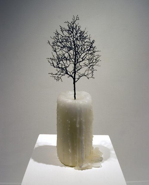 Sculptures by artist Myeongbeom Kim