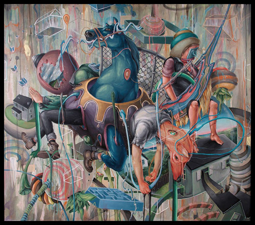Artist painter Pat Perry