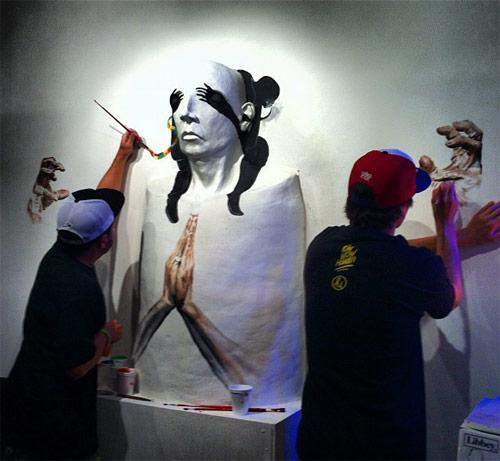 live paint pow wow