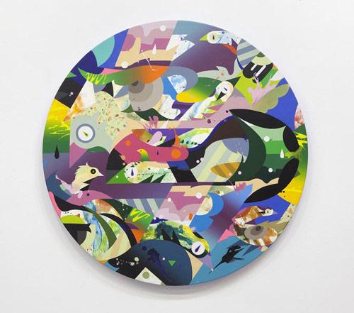 Artist painter Tomokazu Matsuyama
