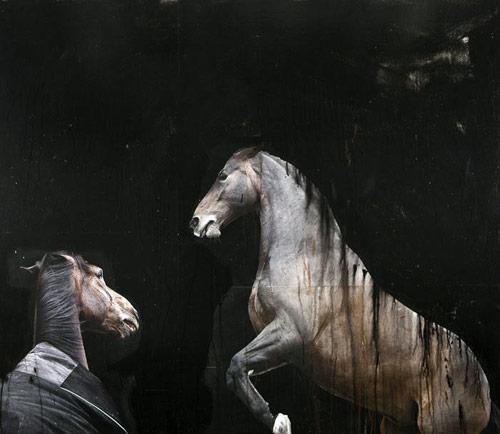 Artist painter Andre Petterson