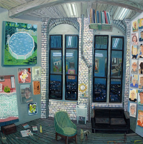 Artist painter Daniel Heidkamp
