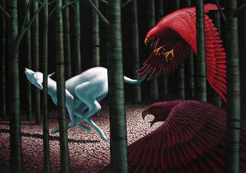 Artist painter Leonard Koscianski paintings