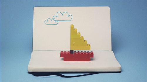 Moleskine - Lego Pitch by animation Lucas Zanotto