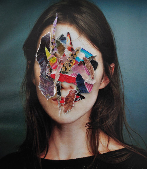 Collages by artist Marco Migani