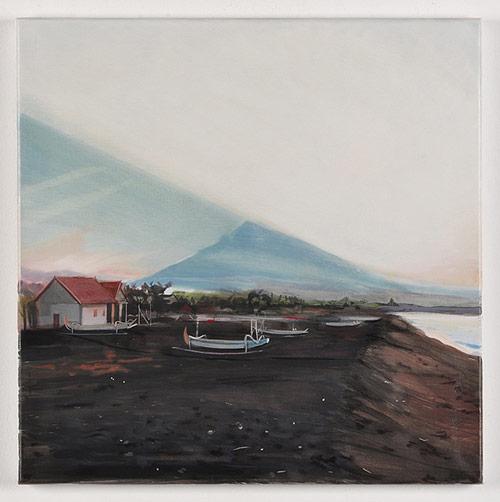 Artist painter Adam de Boer