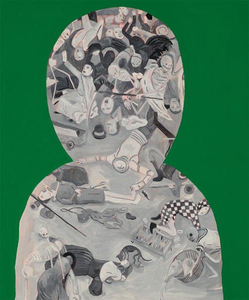 Artist painter Andrew Pommier