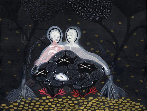Drawings by artist Betsy Walton