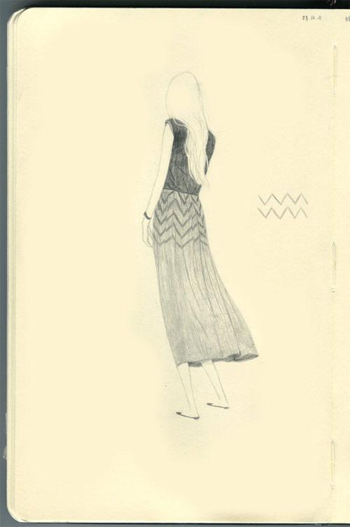 Fashion illustrations by Dadu Shin
