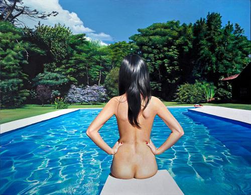 Artist painter Diego Gravinese
