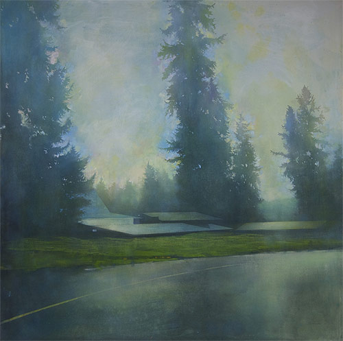Vancouver based artist painter Erin McSavaney
