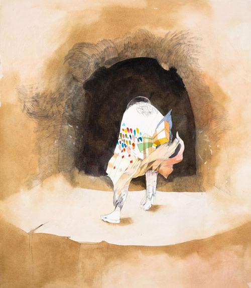 Drawings by artist Gala Bent