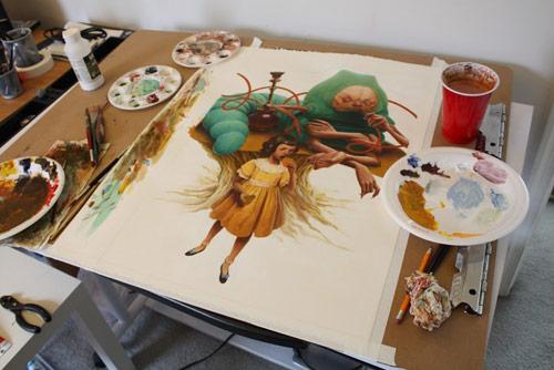 Artist illustrator Jeremy Enecio