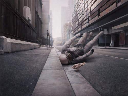 Artist painter Jeremy Geddes