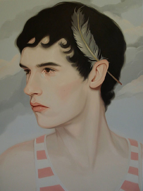 Artist painter Kris Knight