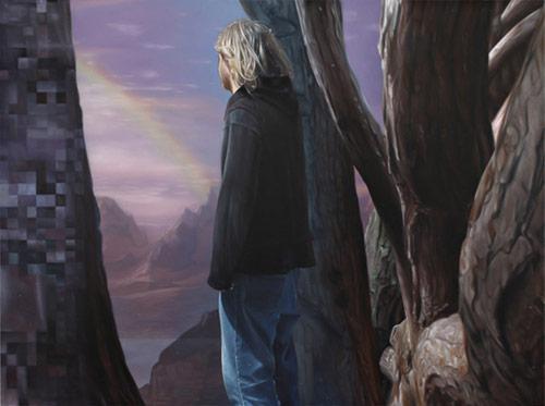 Artist painter Seamus Conley
