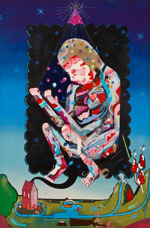 Artist painter Sickboy