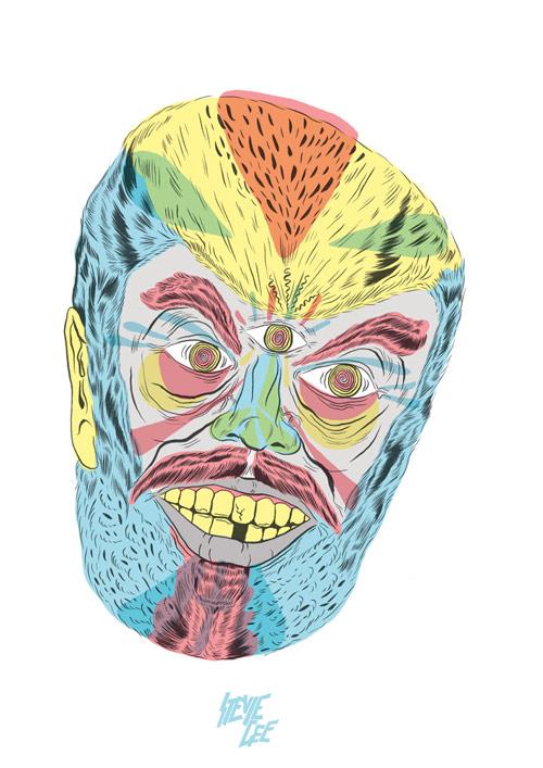 Artist illustrator Stevie Gee