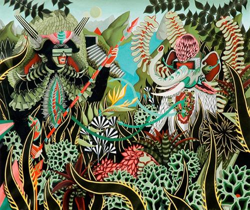 Artist Bruno 9li paintings painter
