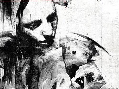 Artist Russ Mills Byroglyphics