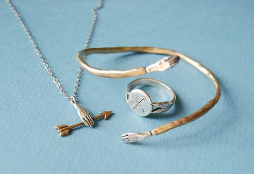 artist illustrator kay blegvad jewelry