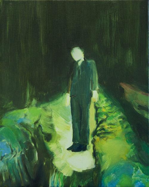 Artist painter Lindsey Bull