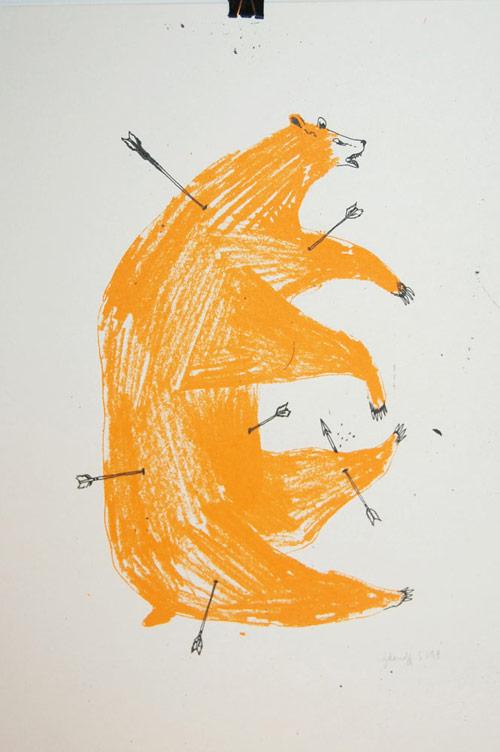 Artist Marion Jdanoff